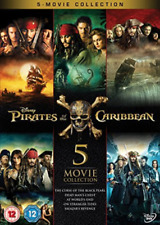 Pirates Of The Caribbean 5 Movie Collect (UK IMPORT) DVD [REGION 2] NEW