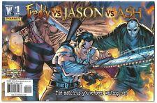 FREDDY VS JASON VS ASH #1 J SCOTT CAMPBELL 2ND PRINT WILDSTORM/DYNAMITE