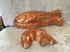 Copper Fish Molds - 2
