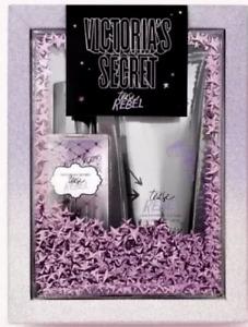 Victoria's Secret Tease Rebel Mini Fragrance Body Mist & Lotion Boxed Gift Set
