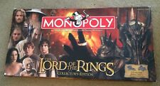 Monopoly Lord Of The Rings Collector's Edition! Very Rare!!