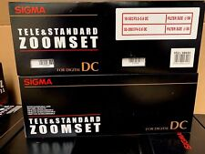 Sigma Tele & Standard ZOOM SET DC for Sony 18-50mm F3.5-5.6 and 55-200mm F4-5.6