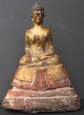 Antique Bouddha en Bois, CAMBODGE