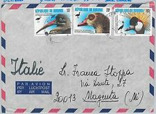BURUNDI -  POSTAL HISTORY -  COVER from NGOZI to ITALY  -   BIRDS