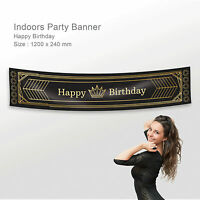 Personalised 21st Birthday Roaring Twenties 20's Flapper Party Canvas Banner