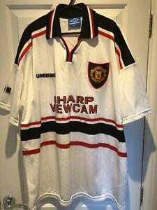 1997-99 Manchester United Man Utd Away Shirt XXL