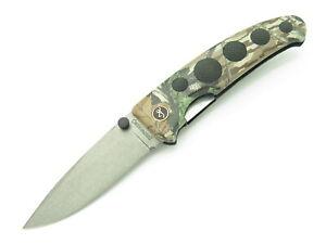 Vtg Browning 6042 Barracuda Hiro Seki Japan Drop pt Folding Hunter Pocket Knife