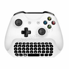 2.4G White Wireless Message Chatpad Keyboard KeyPad For Xbox One S