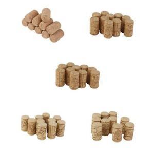 10x Brew Wine Corks Bottle Stoppers Craft Art Hobby DIY Cork Board Wedding Charm