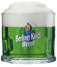 6er Set Original Berliner Kindl Weisse Klauenglas 0,3L Klauengläser Bier Gläser