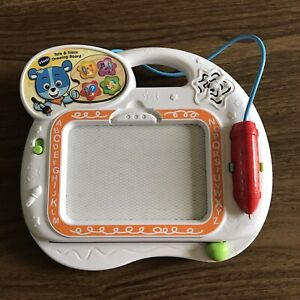 Vtech Tote Trace Learning Drawing Board Preschool Toy Writing