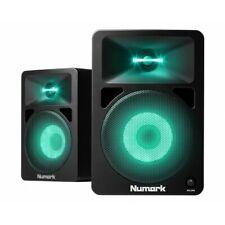 Numark N-Wave 580L Active Powered DJ Monitor Speakers LED Lights OPENBOX Dubs