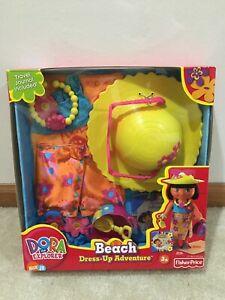 Dora The Explorer Beach Dress Up Fashion Pack Nick Jr. New & Sealed