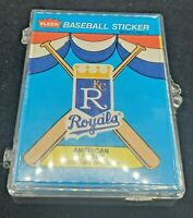 Lot of 35 1989 Fleer Team Baseball Stickers few duplicates unused throwback logo