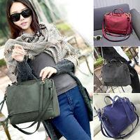 Vintage Style Women Handbag Shoulder Bag Messenger Tote PU Leather Ladies Purse