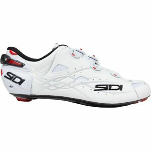 SIDI Shot Road Carbon Cycling Shoes Cleat Shoes White/ White