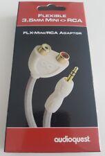 AUDIOQUEST FLEXIBLE 3.5 MM MINI RCA ADATTATORE MINI JACK RCA GARANZIA UFFICIALE