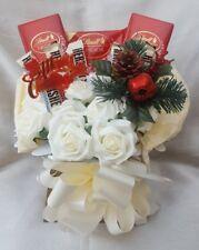 Yankee Candles & Hersheys & Lindt Christmas Bouquet - Sweet Gift hamper