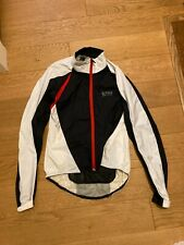 Gore Bike Wear Windstopper jacket, white/black medium