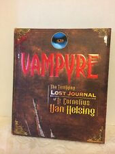 Vampire, The Terrifying Lost Journal Of Dr. Cornelius Van Helsing Hardback Book