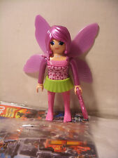 playmobil Fairies inedit Fée Violette edition speciale QUICK FRANCE Neuf