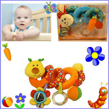 Curly Spiral My 1st Baby Cot Toy Activity Hanging Toy for Cot Car Seat Pushchair