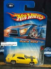 HOT WHEELS 2005 #101 -1 1971 PLYMOUTH GTX YELLO BLK GRILL SLVR GTX TAM THAIL05CA