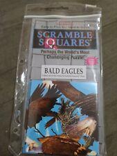 B Dazzle Bald Eagles Scramble Squares 9 Piece Puzzle 2004