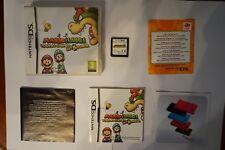 Mario Y Luigi Viaje centro Bowser Nintendo game Ds original videjuego PAL limpio
