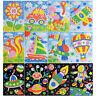 Mosaiken Kreative Puzzles Tiere Kunst Handwerk Aufkleber für Kinder Pädagogis YF