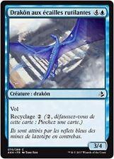 MTG Magic AKH - (x4) Shimmerscale Drake/Drakôn écailles rutilantes, French/VF