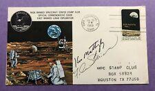 1969 Apollo 11 Postal Cover - Astronaut Autographed - Mattingly & Michel (Rare)