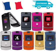 Motorola RAZR V3  Noir, Bleu, Rouge, Rose, Argenté, Gris  (Désimlocké)