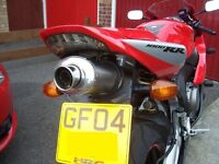 Honda CBR1000RR 04-05 Fireblade Stainless Oval single outlet R/Legal MTC Exhaust