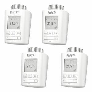 4x AVM FRITZ!DECT 301 Heizkörperthermostat Smart Home Hausautomation DECT