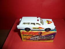 Matchbox Superfast #55 Mercury Estate Coche de Policía, menta en caja Sin precio de reserva Menta, década de 1970.