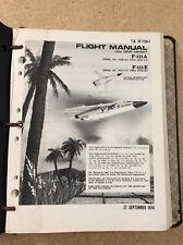 Rare Vintage F111A F111E Flight USAF 1974 In Handbook Guide F111 Instructions