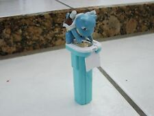Pokemon Blastoise Candy Dispenser 1998 RARE Bandai with some old candy in it