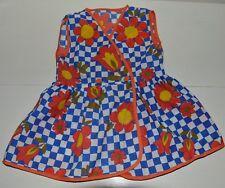 783d1663cb97a Vêtement enfant ancienne robe tablier légère été fille retro vintage 70 S