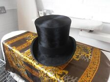 1920s Austin Reed  Silk Top Hat Size 7 Nice Shape