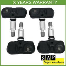 4pcs Tire Pressure Monitor Sensor TPMS For Lexus IS350 GX460 RX350 Toyota Scion