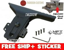 Thordsen Customs Adjustable CHEEK Weld rise kit Black for GEN III 3 Stock MFT US