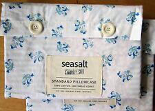 SEASALT Standard Pillowcase Pair CORNISH FLOWER FIELDS New