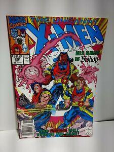 The Uncanny X-Men #282 Newstand 1st Bishop Whilce Portacio Cover 1991