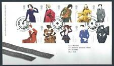 29221) UK - GREAT BRITAIN 2012 FDC Fashion 10v