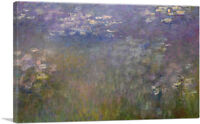 ARTCANVAS Water Lilies 1915-1926 Canvas Art Print by Claude Monet