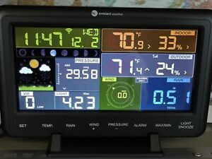 Ambient Weather WS-2902B Solar Powered Wireless Weather Station