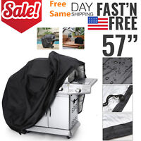 """BBQ Gas Grill Cover 57"""" Barbecue Protection Waterproof Outdoor anti-UV As On TV"""