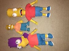 Bart Simpson Vintage Toy Doll Homer & marge with tags talking