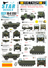 Star Decals 1/35 Vietnam 2 # 35-C1252